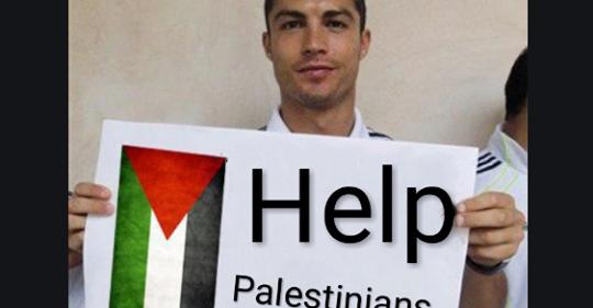 LJUDINA Cristiano Ronaldo donirao 1,5 miliona eura za djecu Palestine